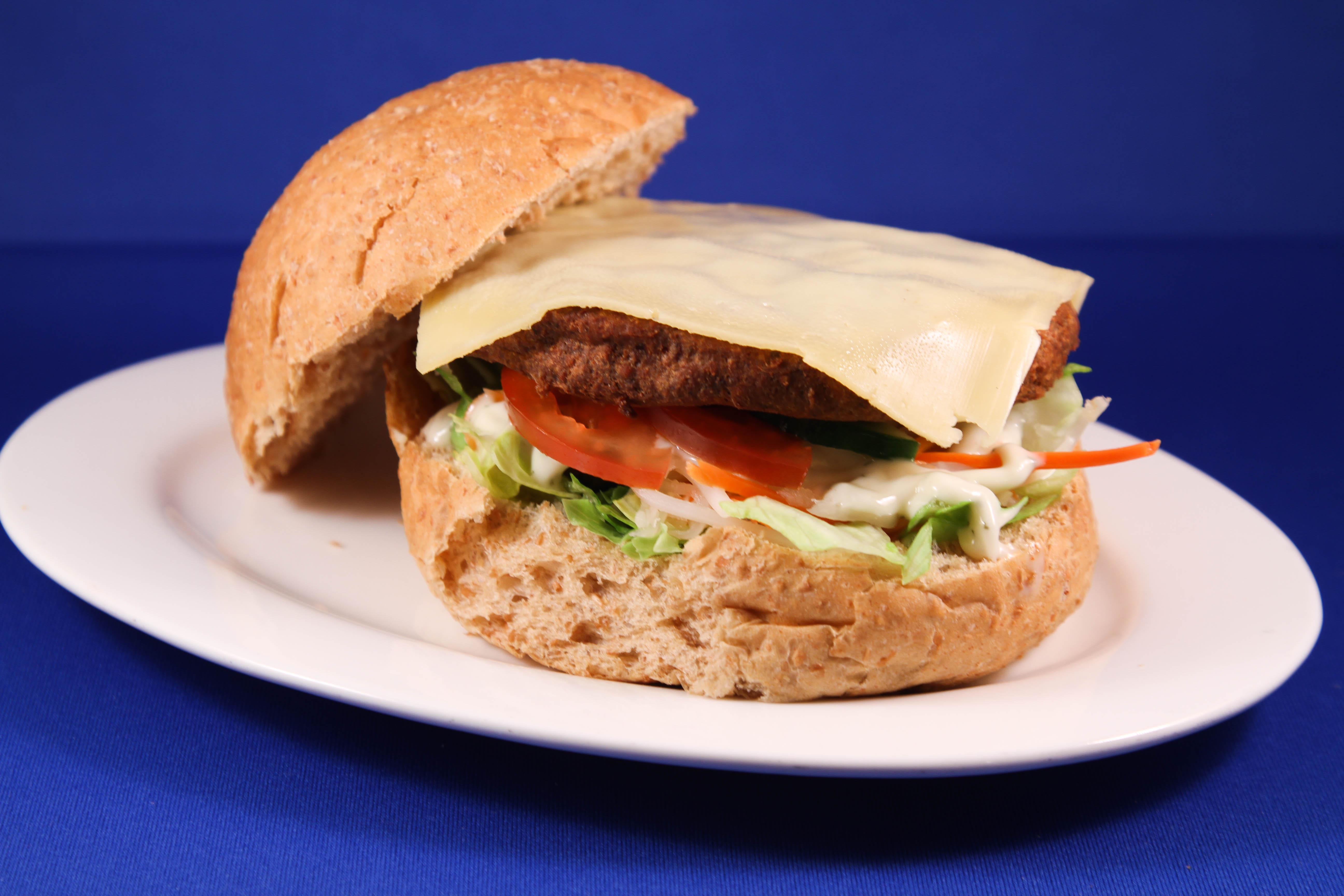 Broodje hamburger gezond
