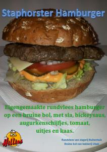 Poster staphorster hamburger